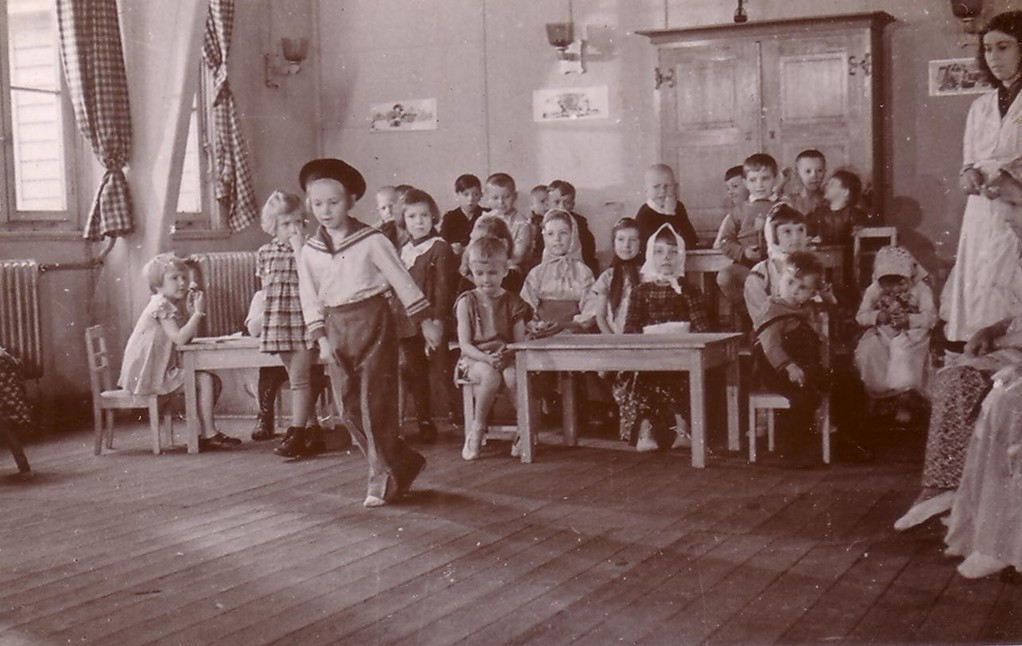 A kindergarten. DP Camp in Kufsein, 1945-49