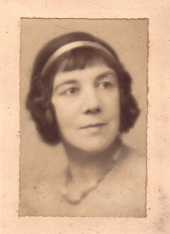 Алина Кожевина, 1940-е гг.