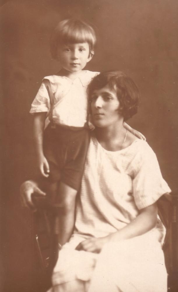Раиса и Мирик. Киев, 1926 г.