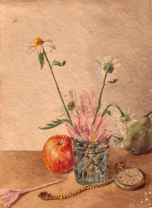 Натюрморт. 19141 г.