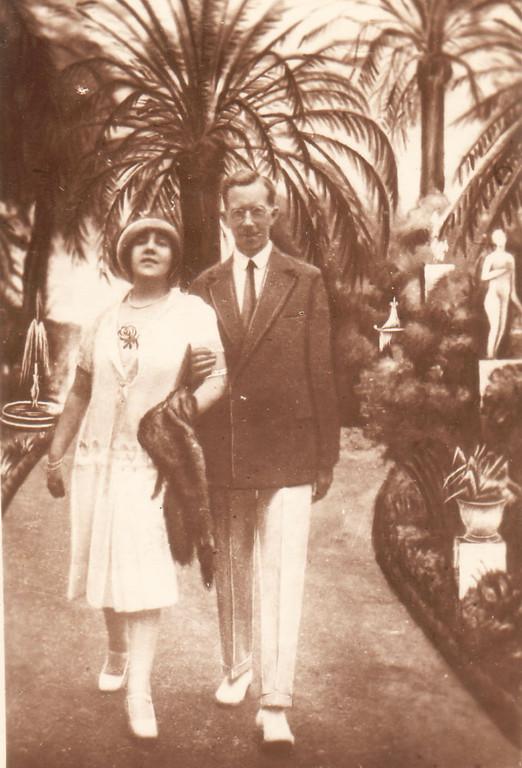Алина и Константин Кожевины. Нью-Йорк. Конец 1930-х гг.