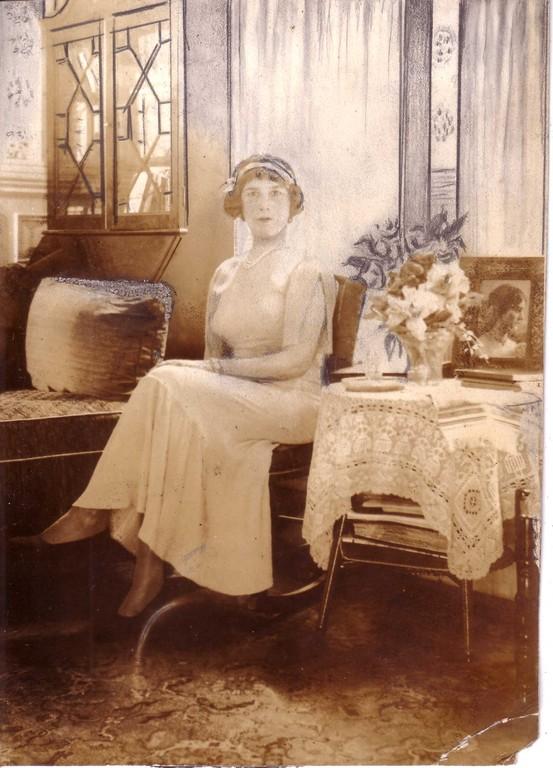 Алина Кожевина, Нью-Йорк, конец 1930-х - начало 1940-х гг.