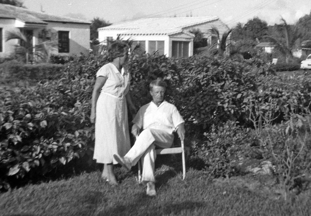 Raissa and Eugene Kogevin. Miami, 1954
