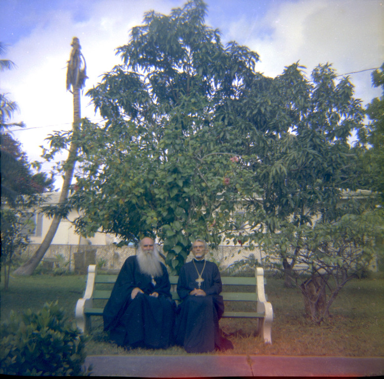 Left to right: Fr. Anastasy, Fr. Eugene Seletsky