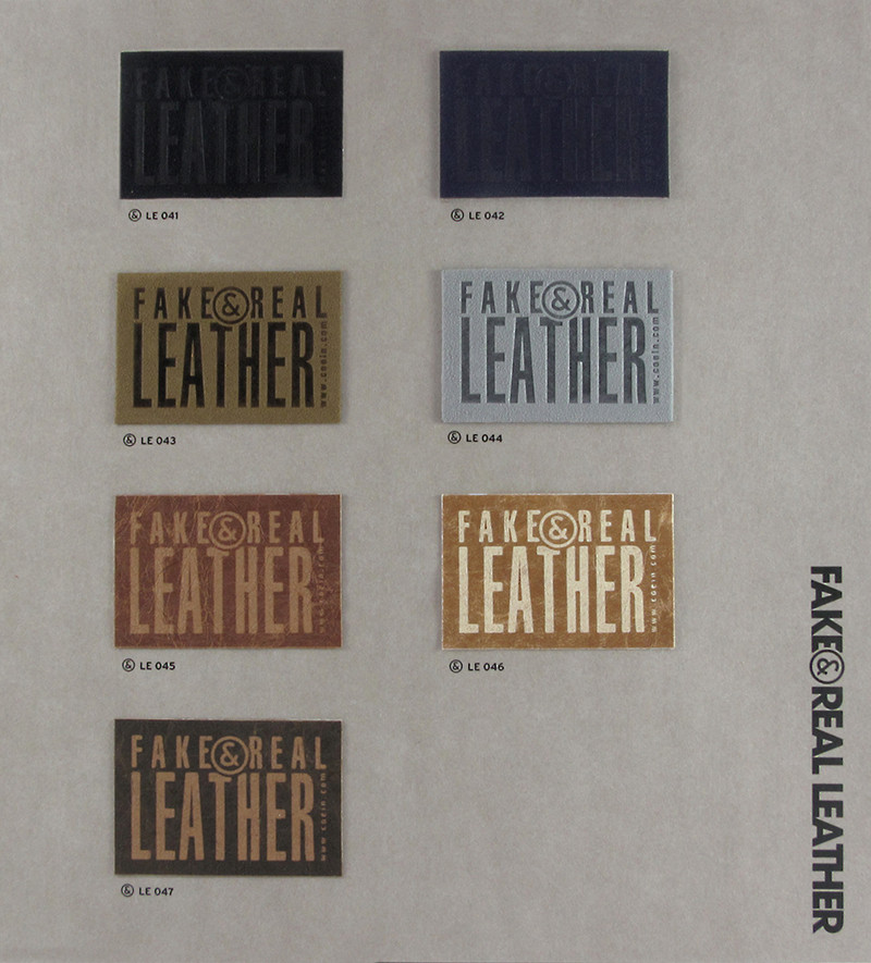 Fake&Real Leather pag.8 - Samples from LE041 a LE047