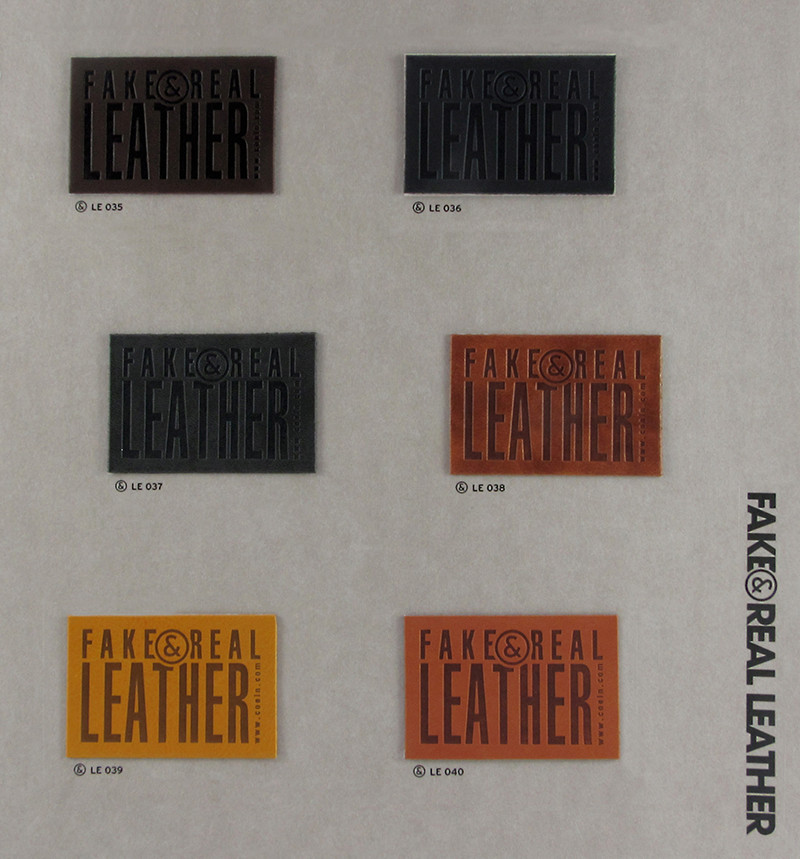 Fake&Real Leather pag.7 - Samples from LE035 to LE040