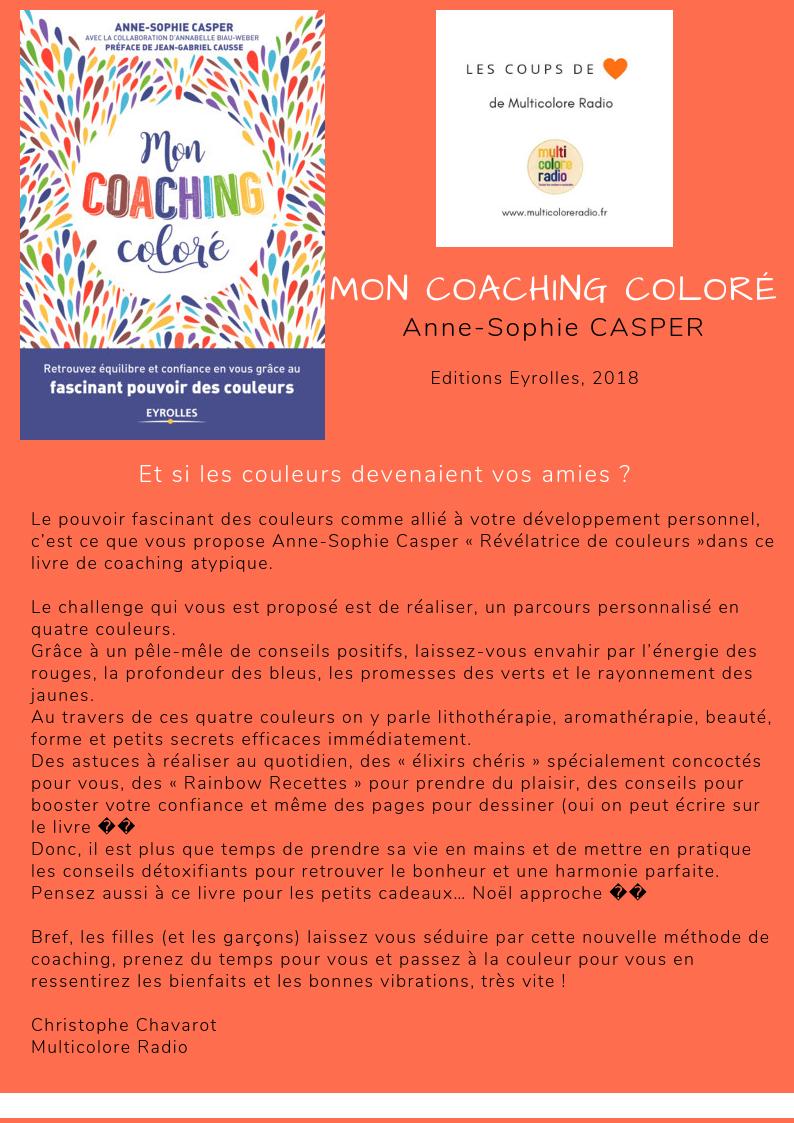 Anne-Sophie Casper mon coaching coloré