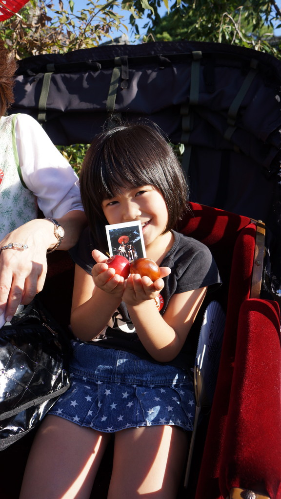 2013 9 29!姫と姫リンゴ!
