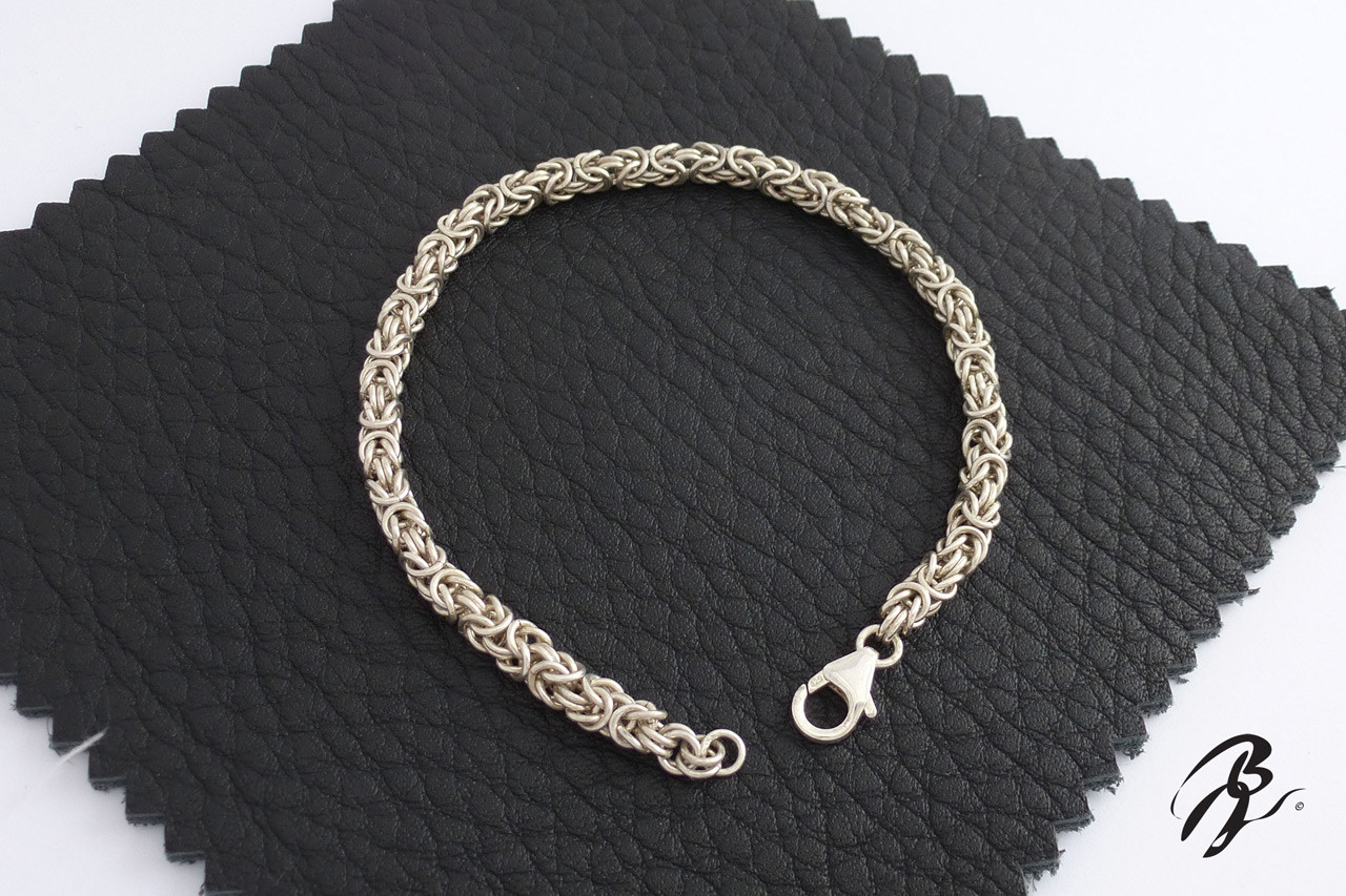 Bracelet Maille Royale Argent