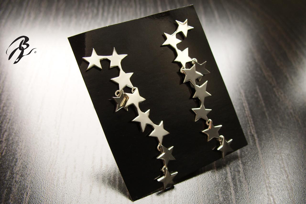 Pendientes Plata Estrellas