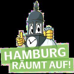 """Logo von """"Hamburg räumt auf!"""""""