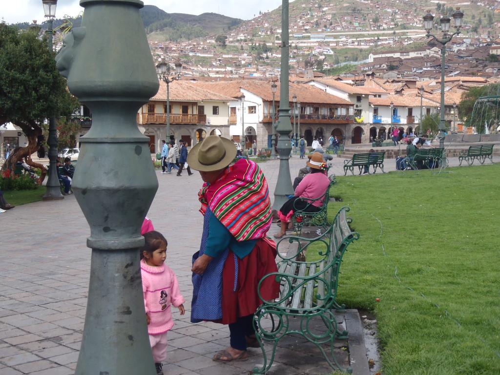 en la Plaza de Armas, Cusco
