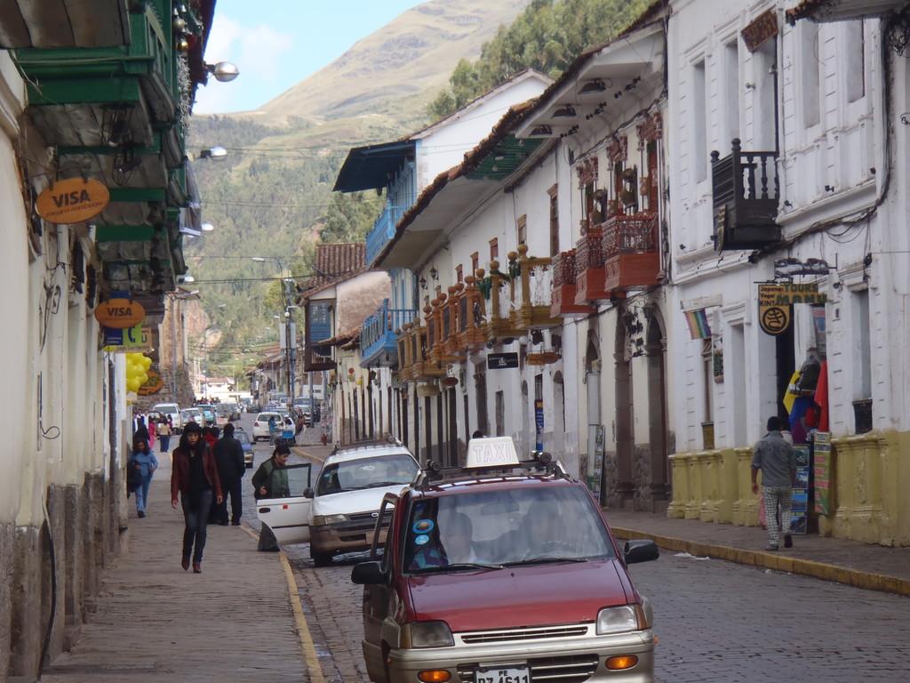 la calle, Cusco