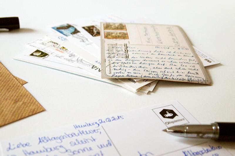 Alltagsabenteurer Alltagsabenteuer Postcrossing Postkarten versenden Urlaubspost Karten schreiben Freizeit Urlaub