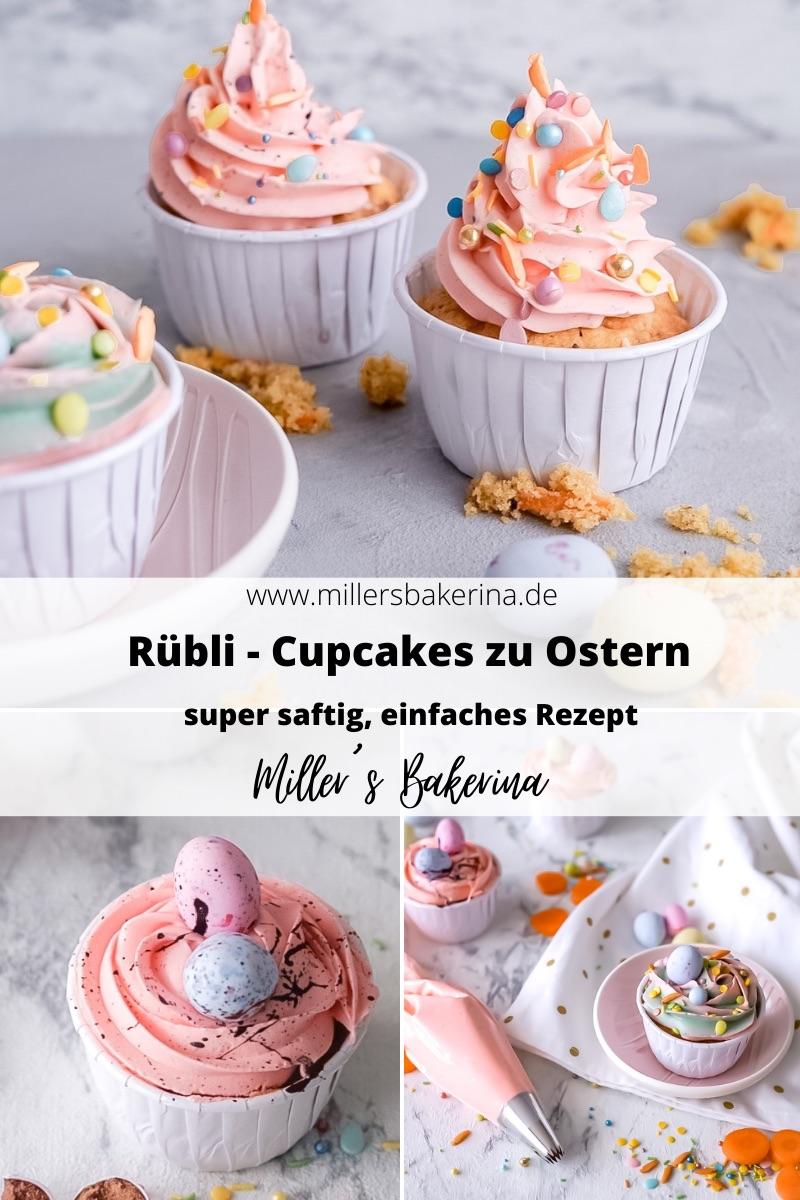 Rübli - Cupcakes / Ostercupcakes