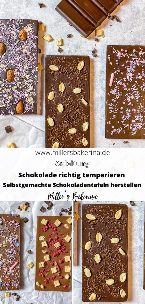 Schokolade richtig temperieren / Schokoladentafeln selbstgemacht