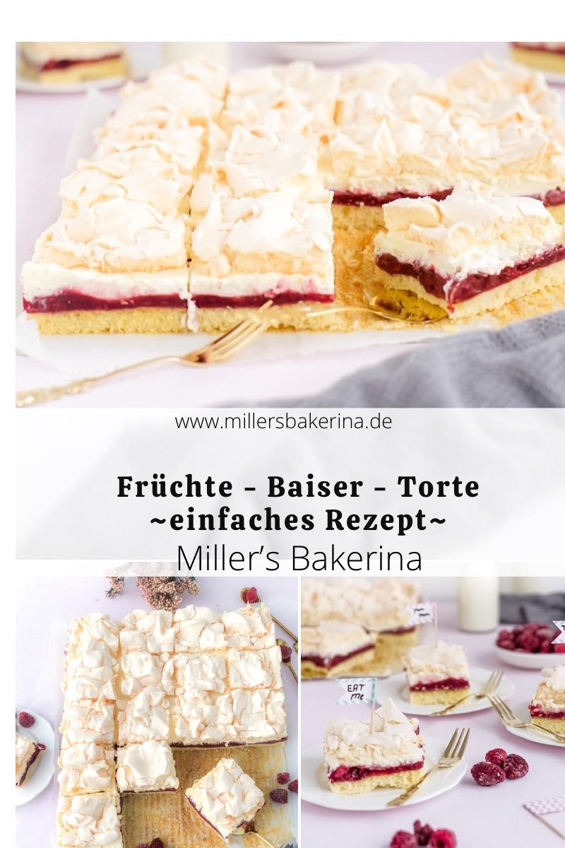 "Früchte-Baiser-Torte / ""Lieblingstorte à la Mama"""
