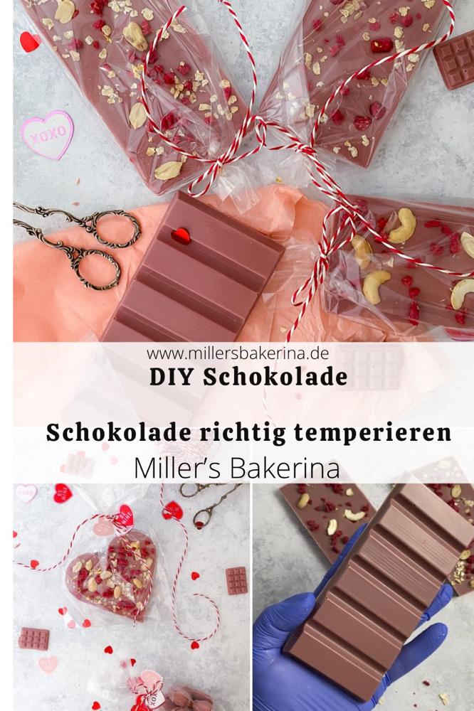 Schokolade richtig temperieren. So wird's gemacht