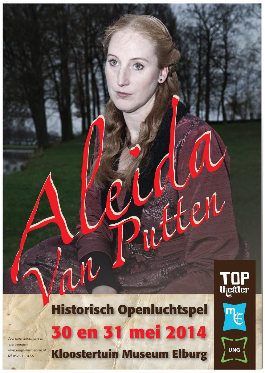 Affiche 'Aleida van Putten'