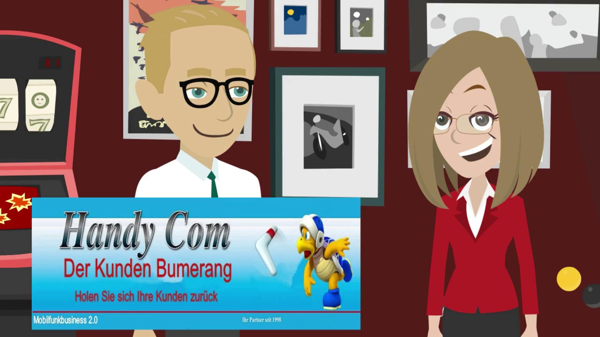 LISA und der Kunden Bumerang