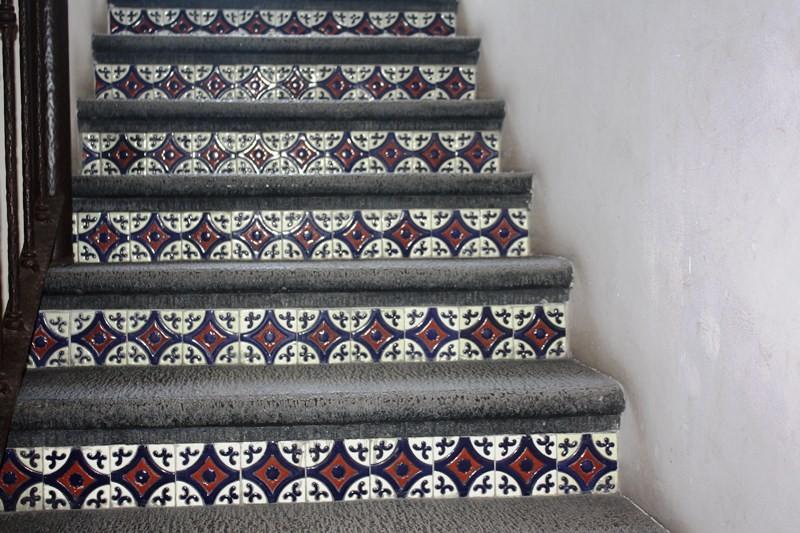Escaleras o peraltes r sticos artesanales talavera - Escaleras rusticas de interior ...