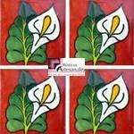 Azulejo Talavera, mosaico modelo Alcatráz Tc en 10.5 x 10.5 cm, ideal para baños y cocinas mexicanas lo encuentras en Rústicos Artesanales visítanos en nuestra web www.rusticosartesanales.com