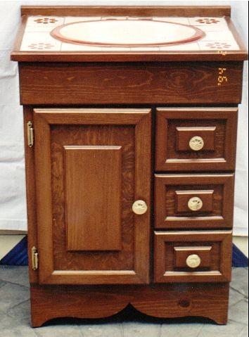 Muebles de talavera para ba os r sticos artesanales - Muebles moreno talavera ...