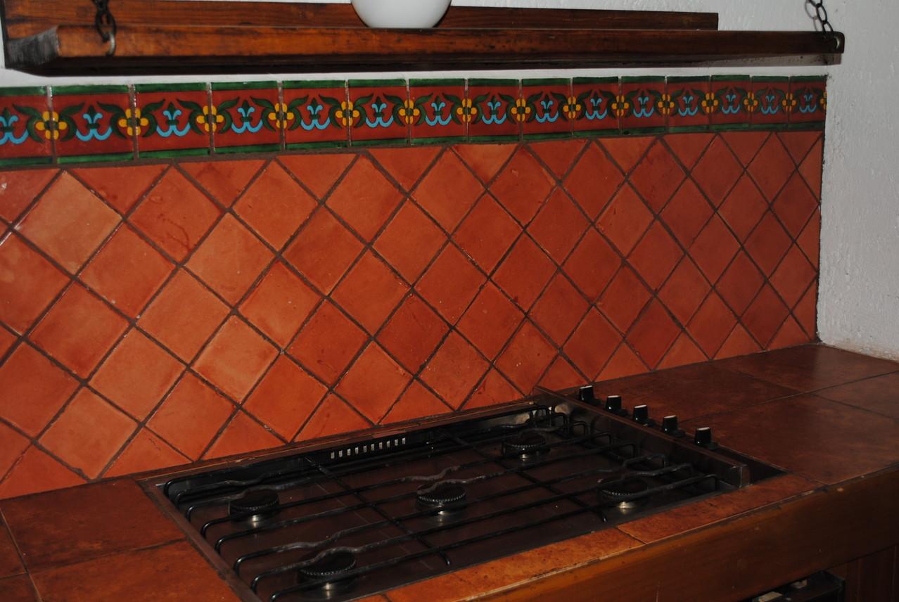 Cenefas r sticos artesanales talavera azulejo - Cenefas cocinas modernas ...