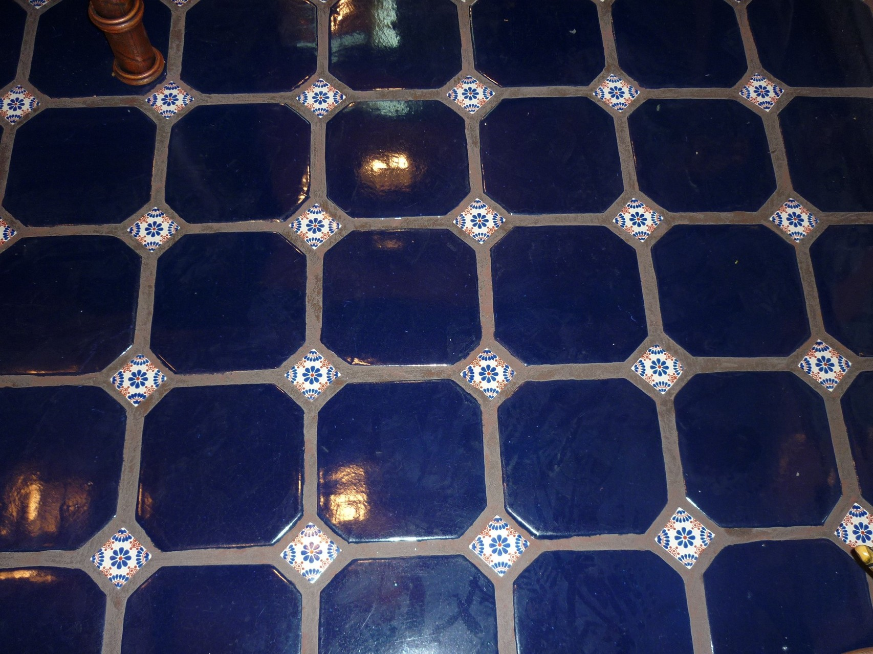 Loseta Bendix 20x20 Azul con incerto 5x5