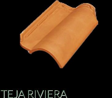 Teja riviera r sticos artesanales talavera azulejo for Clases de tejas y precios