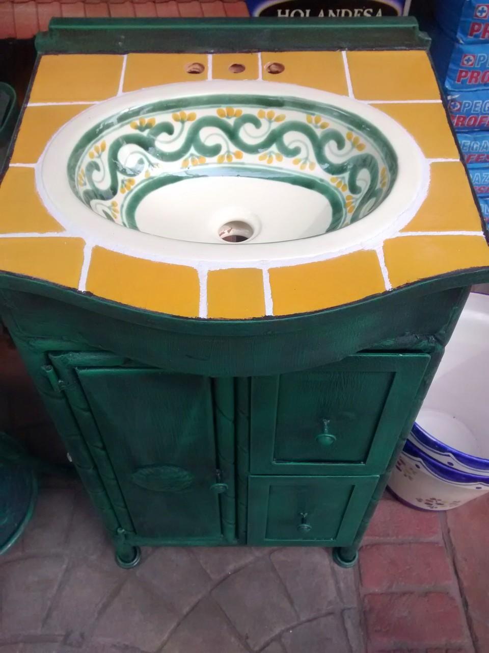 Muebles De Talavera Para Ba Os R Sticos Artesanales Talavera  # Muebles Dolores