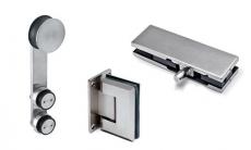 Beschläge und Griffe für Glastüren