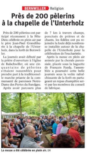 L'ALSACE Thur Doller - 25 juin
