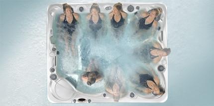 CalderaSpas bain à remous la thérapie Hot Tub