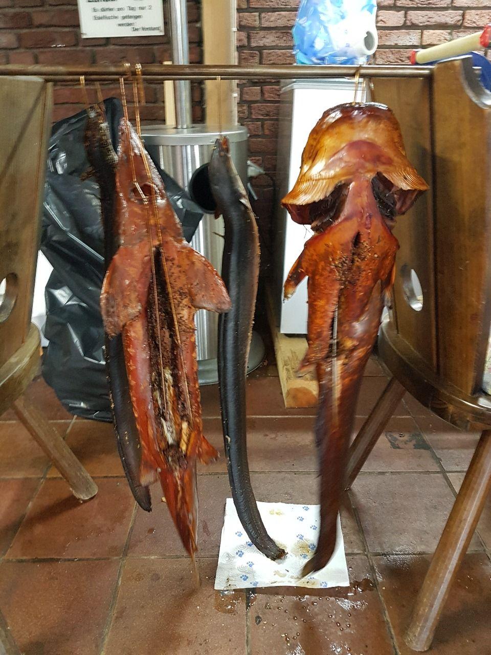 Räucherfisch für die Weihnachtsfeier