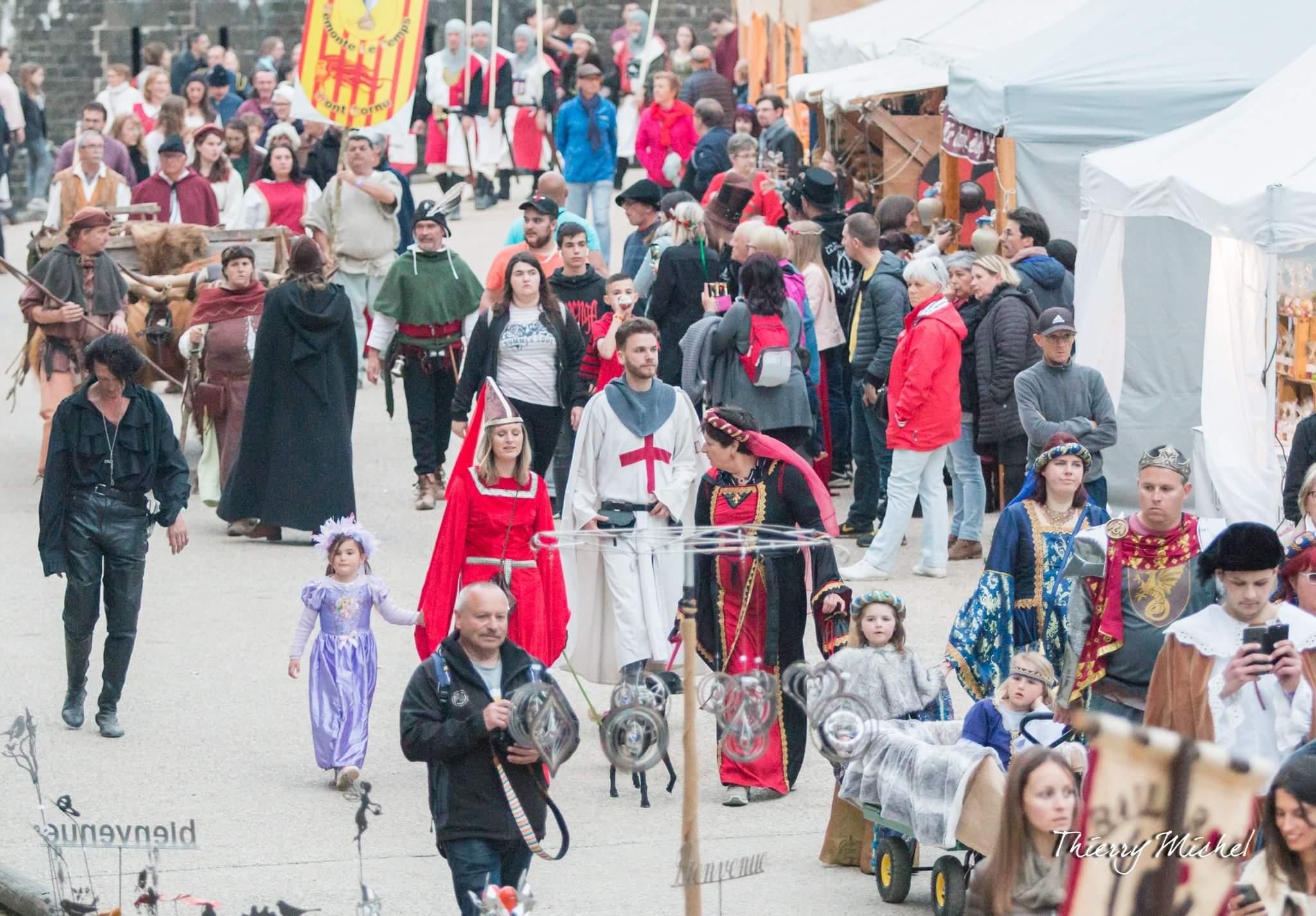 Au défilé des Médiévales de Sedan