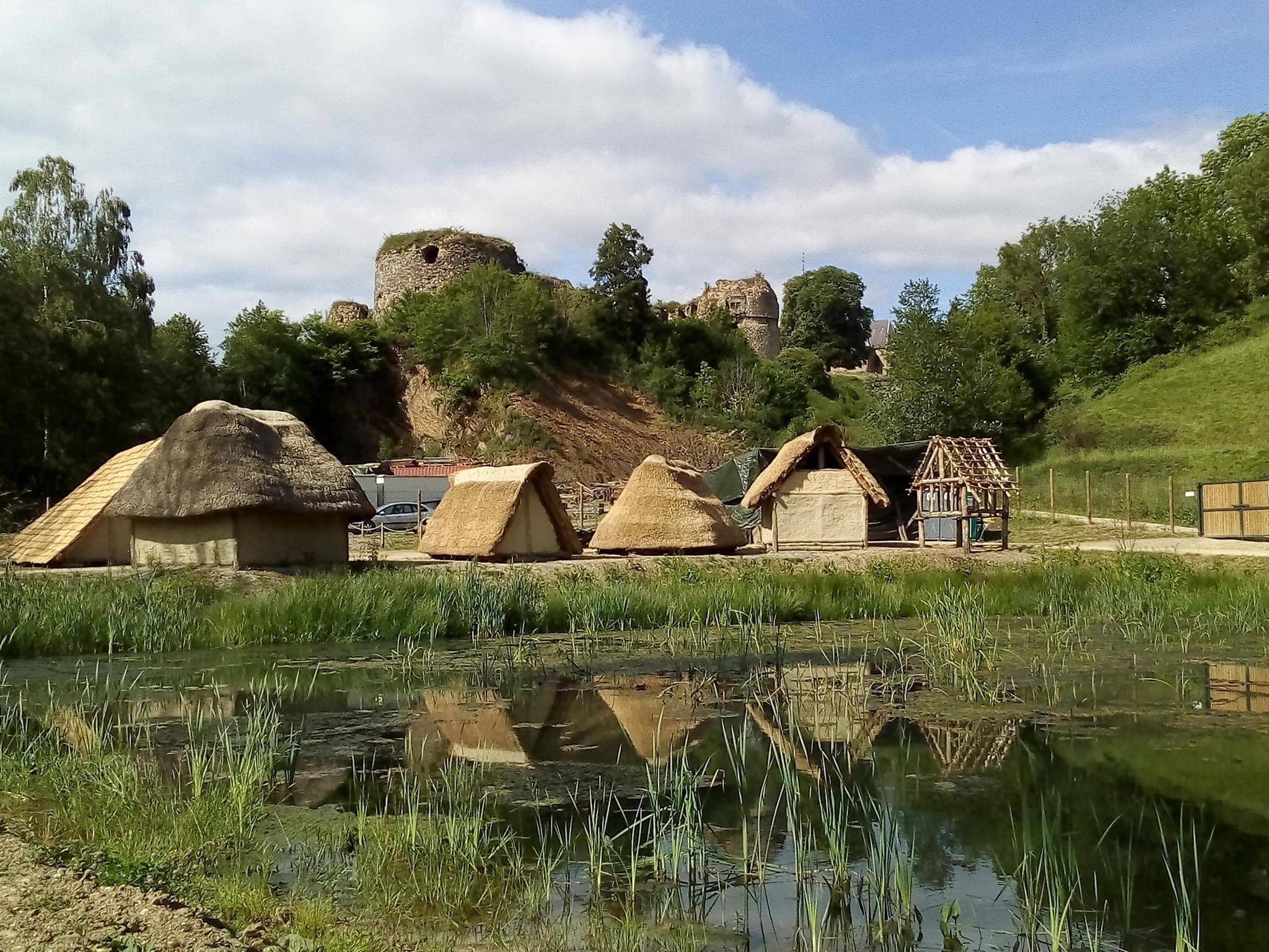 Le village historique de Montcornet