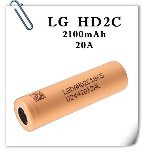 LG ICR18650HD2C 20А