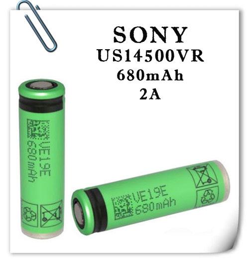 Sony US14500VR2 680mAh 2А