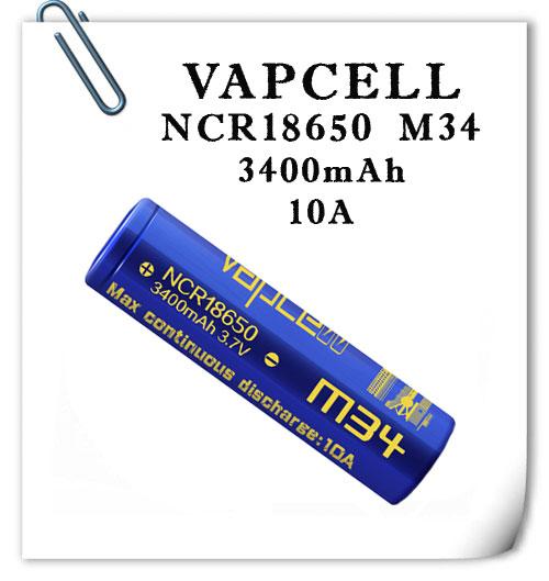 Vapcell INR18650 M34 10A