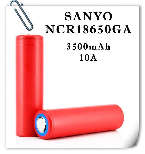 Sanyo NCR18650GA