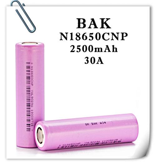 BAK N18650CNP  30A