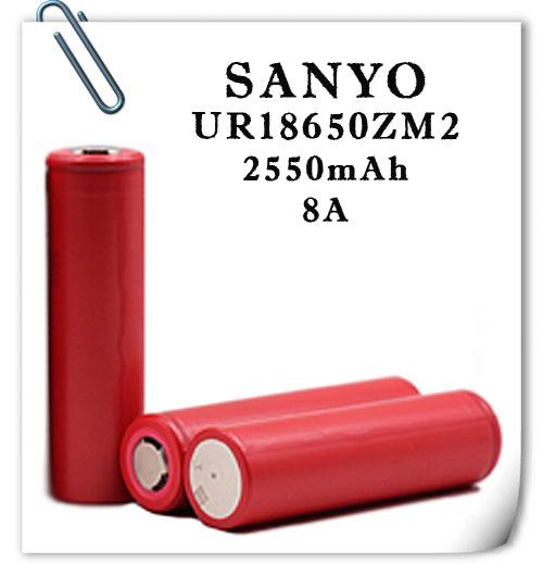 Sanyo UR1865ZM2 2550mAh 8A