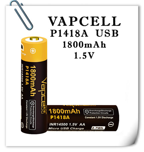 Vapcell P1418A AA 1.5V