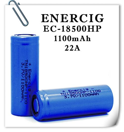 Enercig TN18500HP 1100mAh 22А