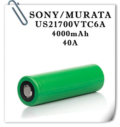 SONY/MURATA US21700VTC6А 40А