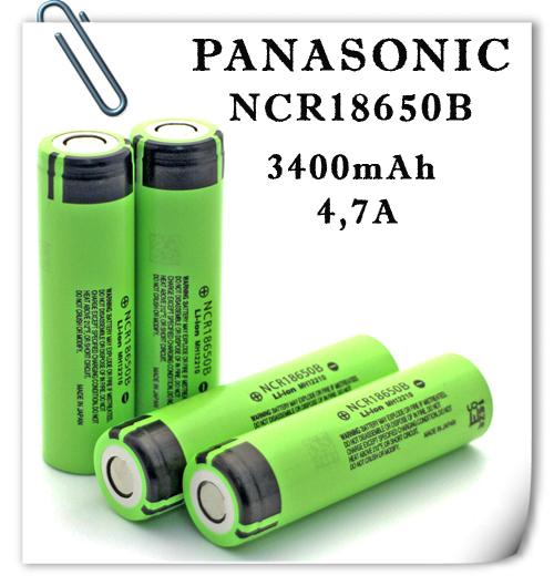 PANASONIC NCR18650В