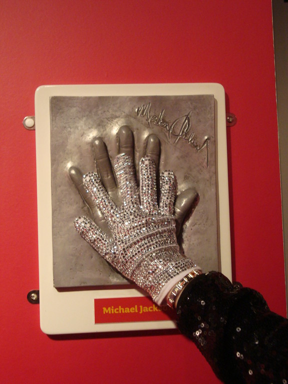 Chellys Hand - Madame Tussauds in London