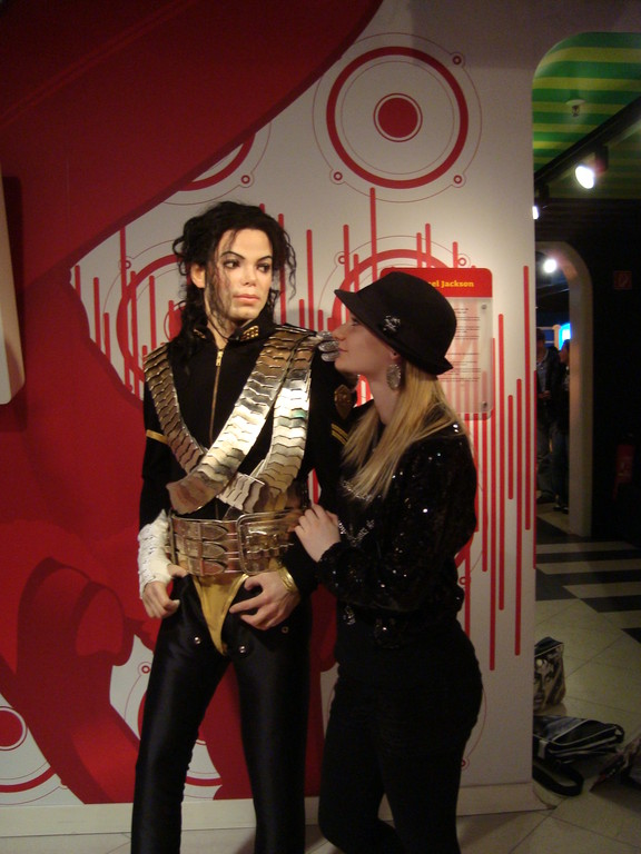 Chelly - Madame Tussauds in Berlin