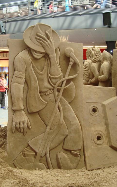 MJ Sandskulpturen